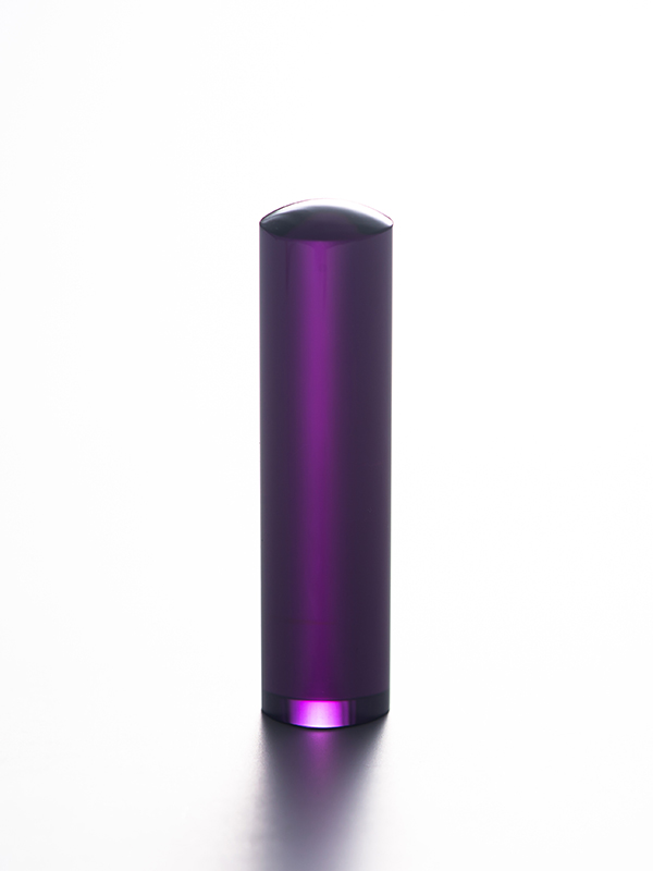 紫水晶のはんこの写真