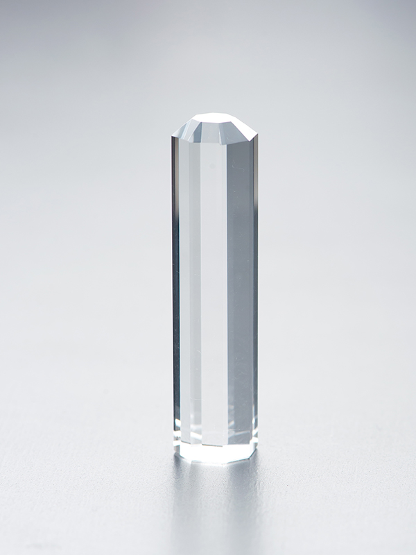 八角水晶のはんこの写真