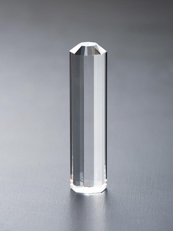 六角水晶のはんこの写真